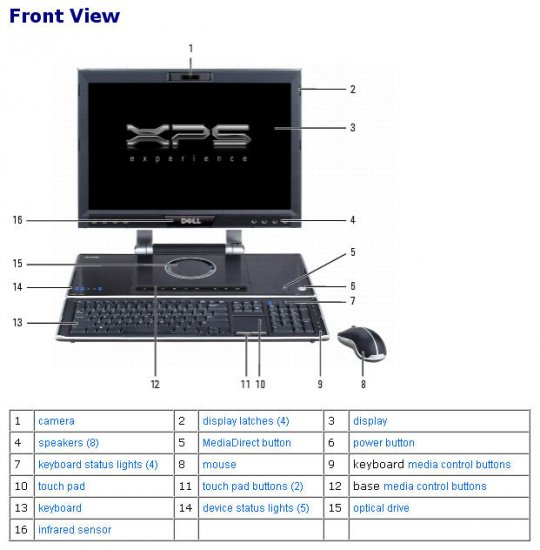 Dell XPS M2010 Laptop - Click Image to Close
