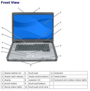 Dell Precision M90 Laptop