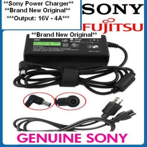AC adapter Fujitsu Notebook Lifebook Laptop Power Charger