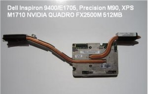 Dell nVIDIA Quadro FX 2500M 512MB Video Card CG129