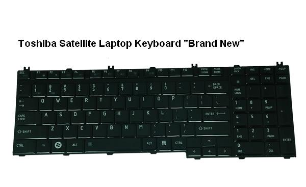 Toshiba Satellite P300 | P300D | P305 | P305D Series Keyboard - Click Image to Close