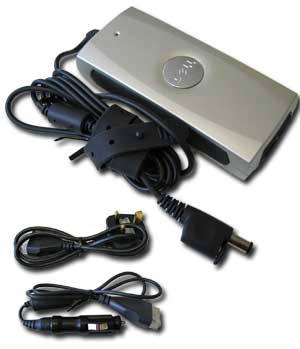 Dell PA-12, Laptop Dell Auto/Air 65W PA-12 AC/DC Adapter - Click Image to Close